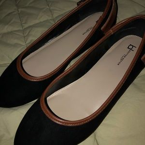Boston Proper Shoes - Black flat shoes